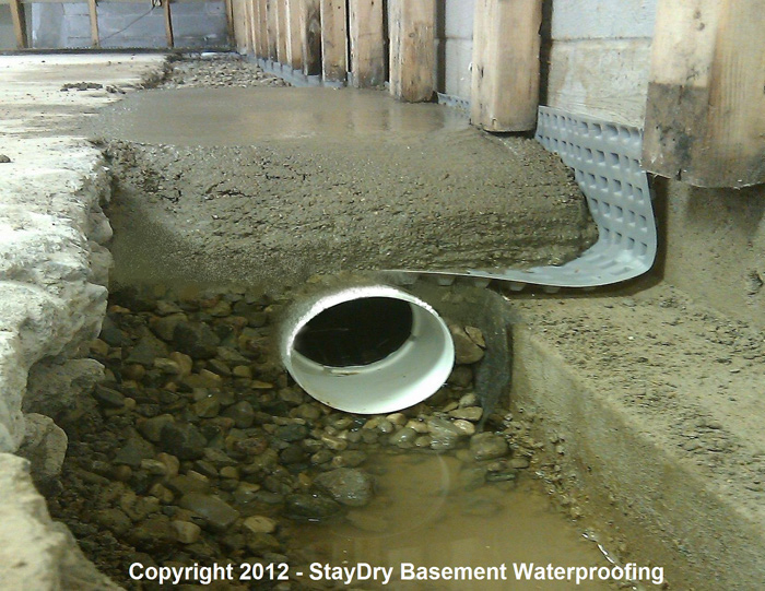 Ann Arbor Basement Waterproofing StayDry Michigan - Basement waterproofing products