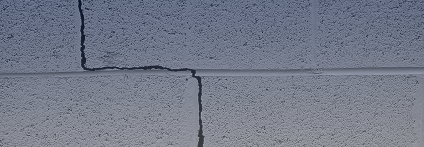 Ann Arbor MI cracked basement wall