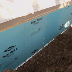 Exterior Basement Waterproofing Process Step 1 in Lansing, MI