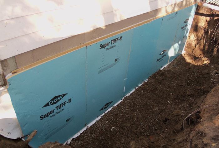 Exterior basement repair step 1 stay dry Exterior basement waterproofing